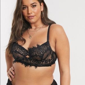 Ann Summers Curve Fearless lace non padded bra